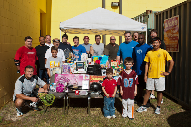 2011 Toy Drive Tournament -  THANK YOU